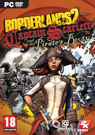 Borderlands 2: Captain Scarlett and her Pirate's Booty - DLC