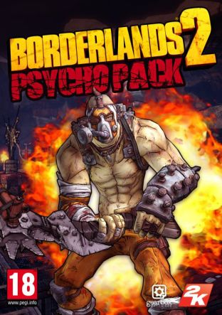 Borderlands 2: Psycho Pack DLC MAC