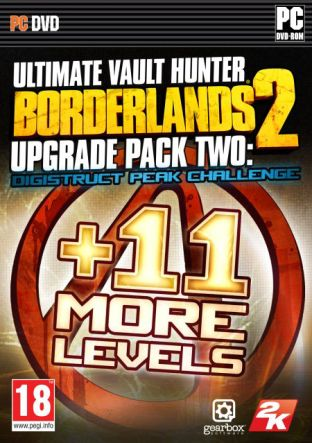 Borderlands 2: Ultimate Vault Hunters Upgrade Pack 2: Digistruct Peak Challenge DLC MAC