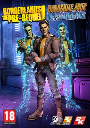 Borderlands: The Pre-Sequel!: Handsome Jack Doppelganger Pack DLC MAC