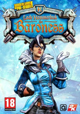 Borderlands: The Pre-Sequel: Lady Hammerlock the Baroness Pack - DLC