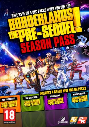 Borderlands: The Pre-Sequel! - Season Pass MAC