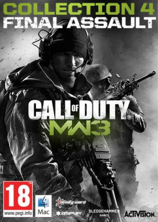 Call of Duty: Modern Warfare 3 Collection 4: Final Assault (MAC) - wersja cyfrowa