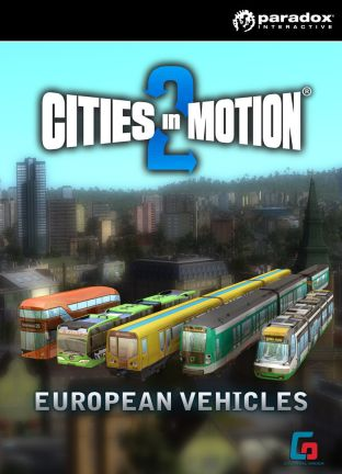 Cities In Motion 2: European Vehicle Pack - DLC