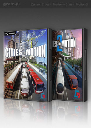 Cities in Motion 1 + 2 Collection - wersja cyfrowa