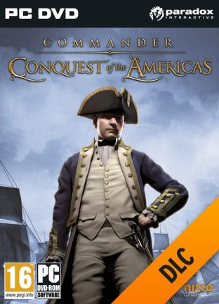 Commander: Conquest of the Americas - Colonial Navy - DLC