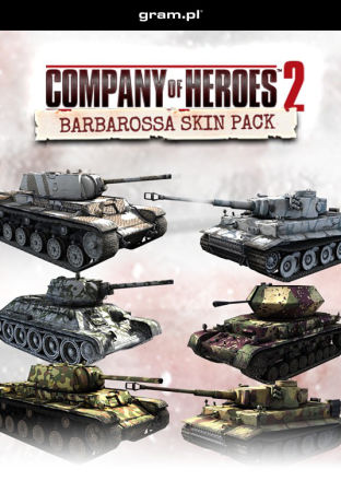 Company of Heroes 2: Barbarossa Skin Pack - DLC