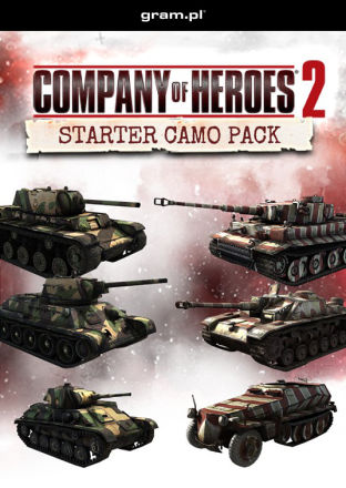 Company of Heroes 2: Starter Camo Bundle - DLC