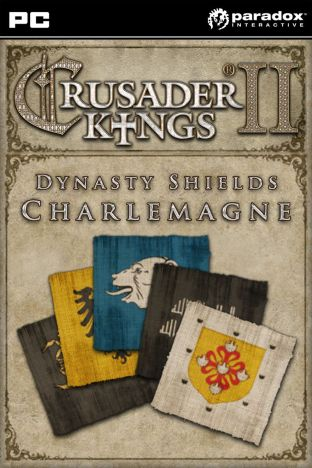 Crusader Kings II: Dynasty Shields Charlemagne - DLC