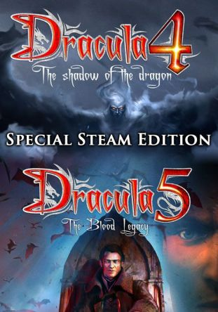 Dracula 4 and 5 - Special Steam Edition - wersja cyfrowa