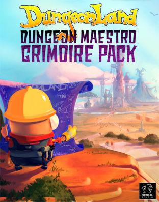 Dungeonland - Dungeon Maestro Grimoire Pack - DLC