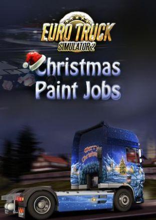 Euro Truck Simulator 2: Christmas Paint Jobs Pack - DLC