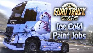 Euro Truck Simulator 2: Ice Cold Paint Jobs DLC - wersja cyfrowa