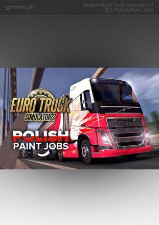 Euro Truck Simulator 2: Polish Paint Jobs DLC - wersja cyfrowa