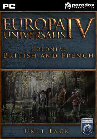 Europa Universalis IV - Colonial British and French Unit Pack - wersja cyfrowa