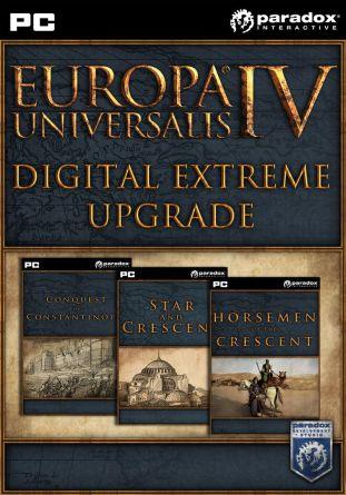 Europa Universalis IV: Digital Extreme Edition Upgrade Pack - wersja cyfrowa
