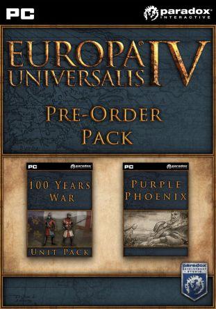 Europa Universalis IV: Pre-Order Pack - wersja cyfrowa