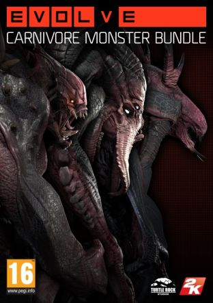 Evolve: Carnivore Monster Skin Pack - DLC