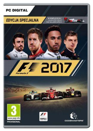 F1 2017 - wersja cyfrowa