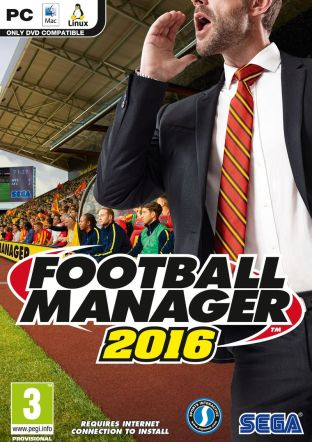 Football Manager 2016 PC/MAC/Linux - wersja cyfrowa