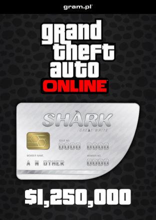 Grand Theft Auto V: Great White Shark Card - wersja cyfrowa