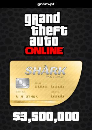 Grand Theft Auto V: Whale Shark Card