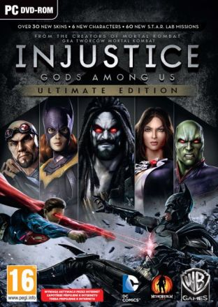 Injustice: Gods Among Us - Ultimate Edition - wersja cyfrowa