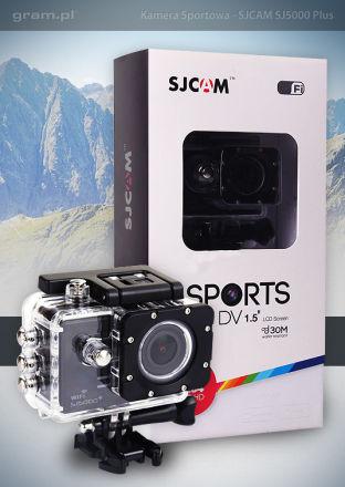 Kamera sportowa SJCAM: SJ5000 Plus