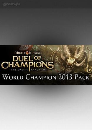 Might & Magic: Duel of Champions: World Champion 2013 Pack - wersja cyfrowa