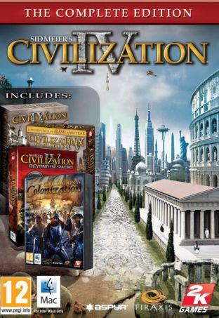 Sid Meier's Civilization IV: Wydanie Kompletne Rozszerzone MAC - wersja cyfrowa
