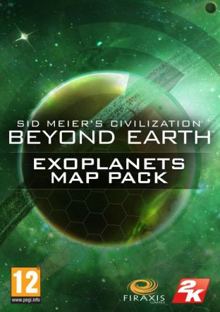 Sid Meiers Civilization: Beyond Earth: Exoplanets Map Pack DLC