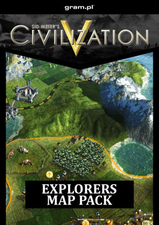 Sid Meiers Civilization V: Explorers Map Pack DLC MAC
