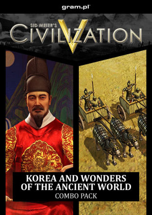 Sid Meier's Civilization V: Korea and Wonders of the Ancient World Combo Pack - DLC