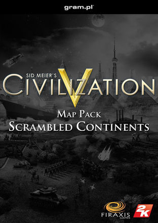 Sid Meiers Civilization V: Scrambled Continents DLC MAC