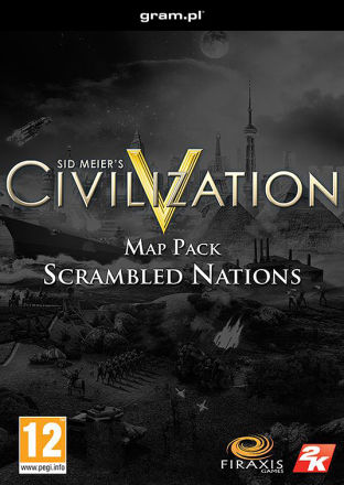 Sid Meiers Civilization V: Scrambled Nations DLC MAC