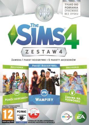 The Sims 4 Zestaw 4 - wersja cyfrowa