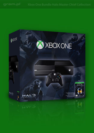 Konsola Xbox One + Halo: The Master Chief Collection