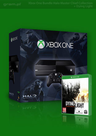 Konsola Xbox One + Halo: The Master Chief Collection + Dying Light