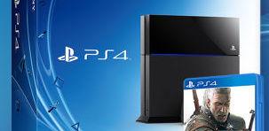 Konsola PlayStation 4 + Wiedźmin 3: Dziki Gon