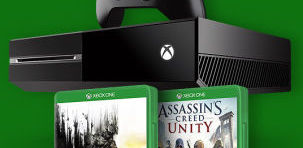 Xbox One + Assassins Creed Unity + Dying Light