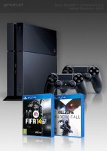 PlayStation 4 + Killzone: Shadow Fall + FIFA 14 + 2x Dual Shock 4