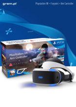 Playstation VR + Gra Farpoint + Kontroler Aim