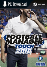 Football Manager Touch 2018 - wersja cyfrowa