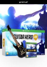 Guitar Hero Live - zestaw: gra + gitara