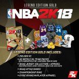 NBA 2K18 Legend Edition Gold - wersja cyfrowa