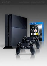 PlayStation 4 + FIFA 14 + 2x Dual Shock 4