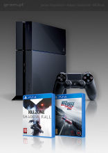 PlayStation 4 + Killzone: Shadow Fall + Need for Speed: Rivals