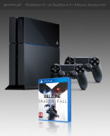 PlayStation 4 + Killzone: Shadow Fall + 2x DualShock 4