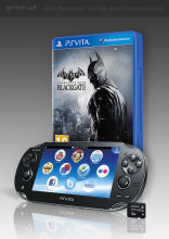 Konsola PlayStation Vita 3G + gra Batman: Arkham Origins - Blackgate (token) + karta pamięci 4 GB