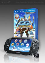 Konsola PlayStation Vita WiFi + gra PlayStation All-Stars Battle Royale + karta pamięci 4 GB